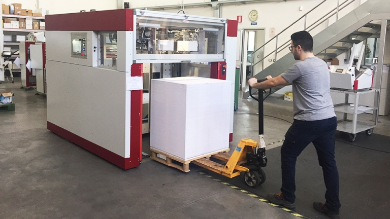 "Automatic counter from pile ""PACK MOVER ADR 32 TH 100"""